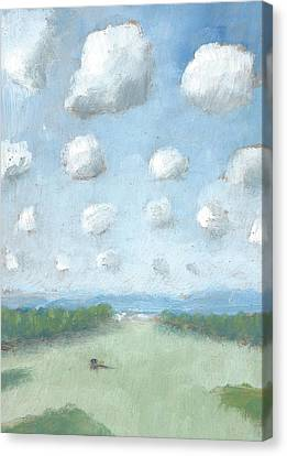 Into The Distance Part One Canvas Print by Alan Daysh