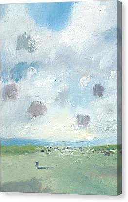 Into The Distance Part Seven Canvas Print by Alan Daysh