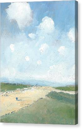 Into The Distance Part Six Canvas Print by Alan Daysh