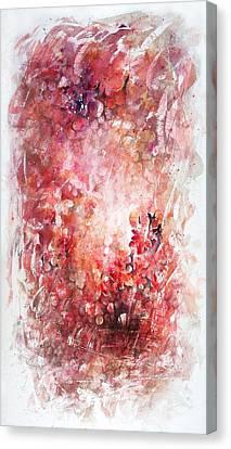 Into The Enchantment Canvas Print by Rachel Christine Nowicki
