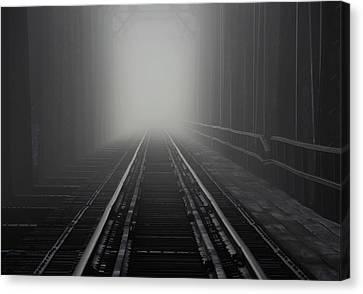 Into The Fog Canvas Print
