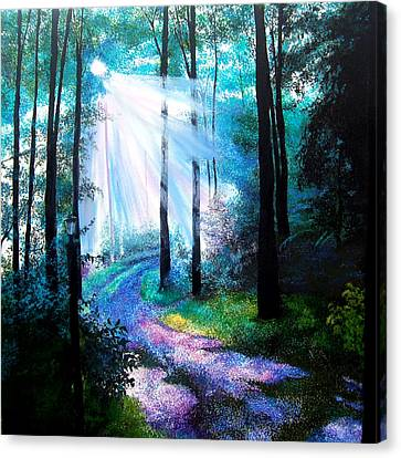 Into The Light. Canvas Print by Jennifer  Blenkinsopp