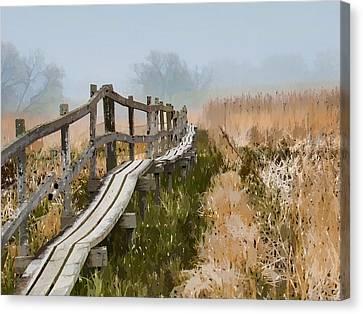 Into The Mist 00 Canvas Print