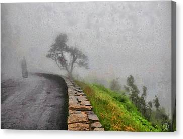 Into The Mist Canvas Print by Gun Legler