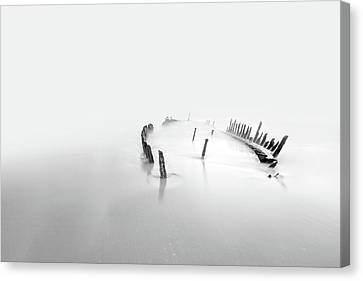 Into The Mist Canvas Print by Mel Brackstone