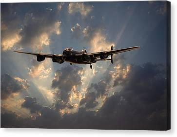 Into The Night Canvas Print by Pat Speirs