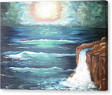 Into The Ocean II Canvas Print