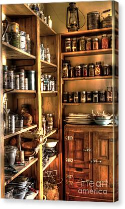 Into The Pantry Canvas Print by Steven Parker