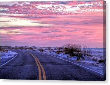 Navarre Canvas Print - Into The Pink by JC Findley