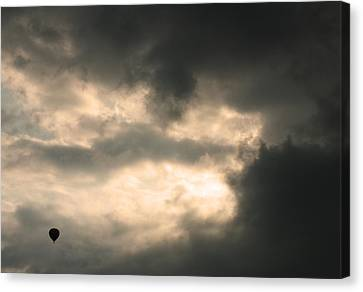 Into The Storm Canvas Print by Debi Dmytryshyn