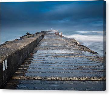 Into The Storm Canvas Print by Greg Nyquist
