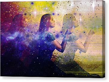 Into The Universe Canvas Print
