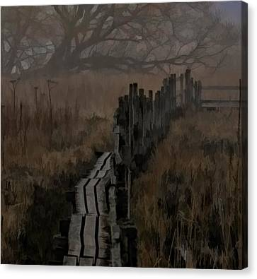 Into The Unknown  By Leif Sohlman Canvas Print by Leif Sohlman