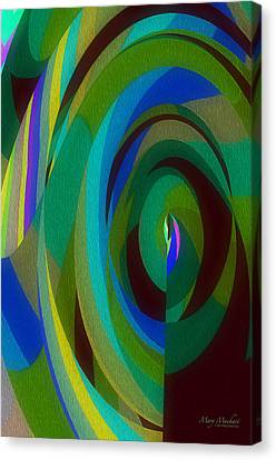 Into The Void Canvas Print by Mary Machare