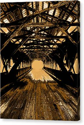 Into The Void Canvas Print by Mike Greco