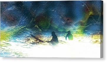 Into The Void Canvas Print by Robert Ball