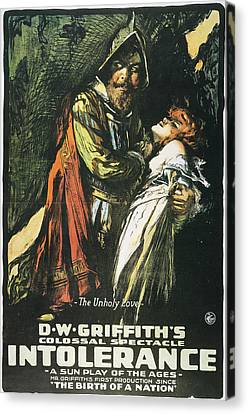 Intolerance Film, 1916 Canvas Print by Granger