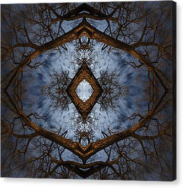 Intricate Eye In The Sky Canvas Print
