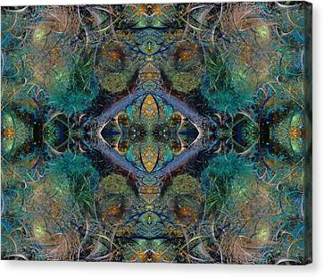 Intrigue Of Mystery One Of Four Canvas Print by Betsy Knapp