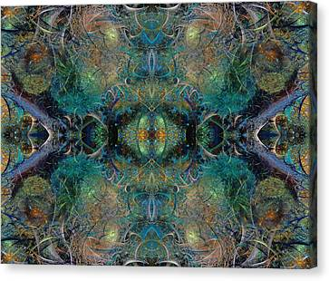 Intrigue Of Mystery Two Of Four Canvas Print by Betsy Knapp
