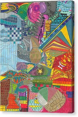 Astronomical Canvas Print - Introspection by James Michael Olson