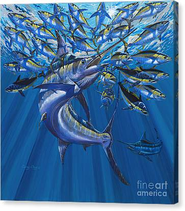 Swordfish Canvas Print - Intruder Off003 by Carey Chen