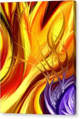 Intuit Canvas Print by Jennifer Galbraith