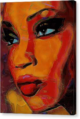Intuition Canvas Print by  Fli Art