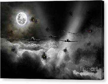 Invasion Of Europe Canvas Print by J Biggadike