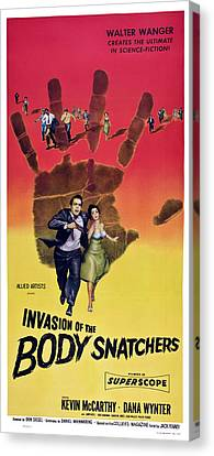 Invasion Of The Body Snatchers, Us Canvas Print