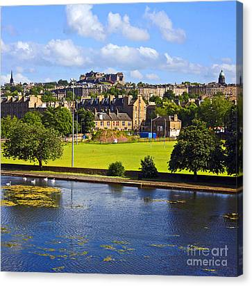 Inverleith Park Edinburgh Canvas Print