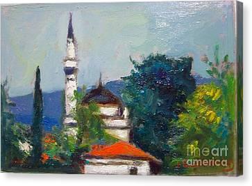 Ioannina Canvas Print by George Siaba