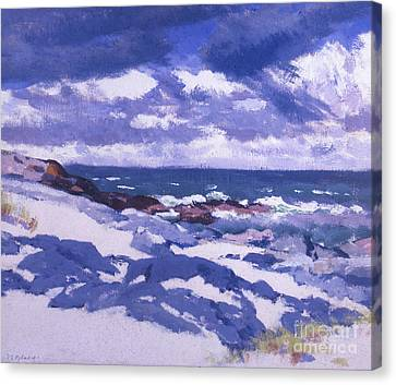 Iona Above Mermaids Canvas Print by Francis Campbell Boileau Cadell