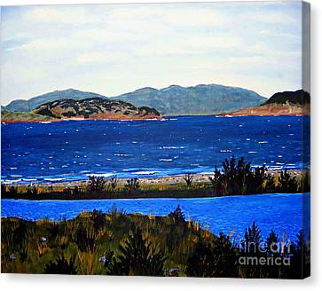 Iona Formerly Rams Islands Canvas Print by Barbara Griffin