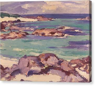 Iona Canvas Print by Samuel Peploe