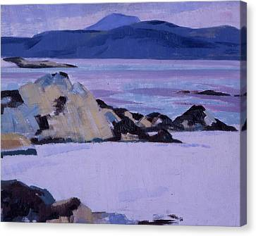 Iona  The North End Canvas Print by Francis Campbell Boileau Cadell