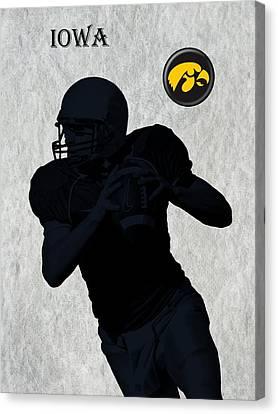 Iowa Football  Canvas Print by David Dehner