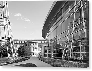 Iowa State University Hoover Hall Canvas Print by University Icons