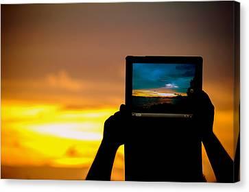 Ipad Photography Canvas Print