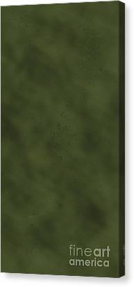 iPhone Green Olive Drab Canvas Print by D Wallace