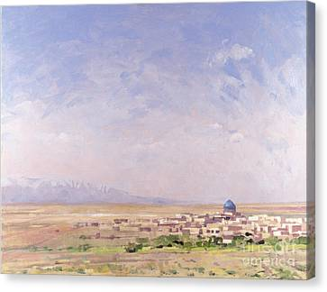 Iran Canvas Print by Bob Brown