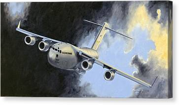 Iraqi Bound Canvas Print