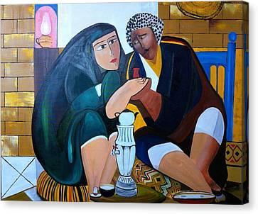 Iraqi Tea Canvas Print by Rami Besancon
