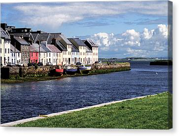 Ireland - Galway Canvas Print by Juergen Klust
