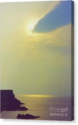 Ireland Giant's Causeway Ethereal Light Canvas Print by First Star Art