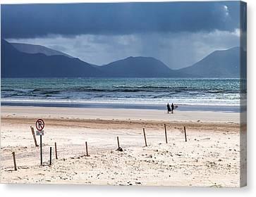 Ireland - Inch Beach Canvas Print by Juergen Klust