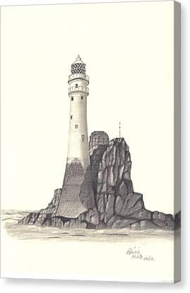 Ireland Lighthouse Canvas Print