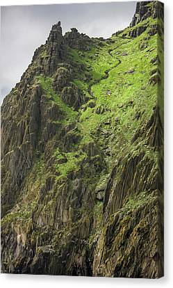 Ireland Skellig Michael Island Europe's Canvas Print by Tom Norring