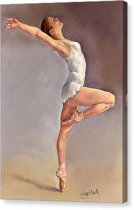 Irina Canvas Print by Margaret Merry