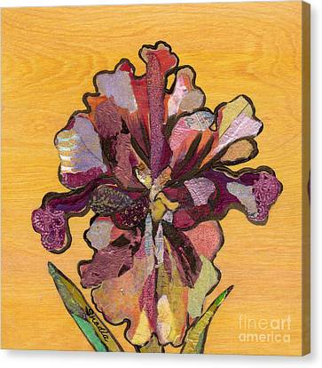 Iris I Series II Canvas Print by Shadia Derbyshire